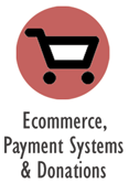 Ecommerce, Payment Systems & Donations
